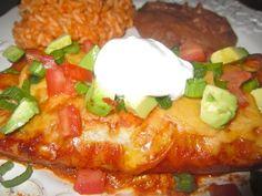 Easy Vegetarian Enchiladas #vegetarian #recipes #easy