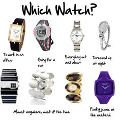 Great article from Inside Out Style (imogen lamport): Which watch to wear? How can you make a watch into a great accessory?