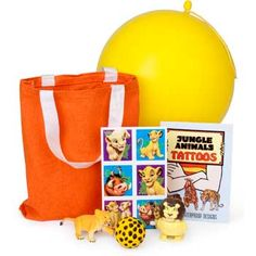 Lion King Deluxe Favor Set - http://birthdays.momsmags.net/lion-king-birthday-party-ideas-supplies/