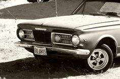 Go Away  Desert Car 8x10 Photograph Black and White by lostlogo, $20.00