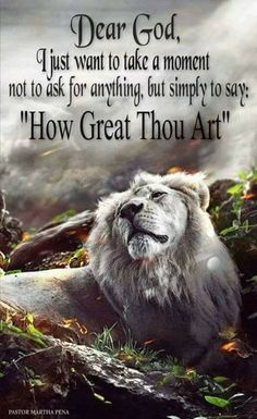 How great Thou Art!!!!