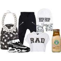 Hip-Hop Dance Class Outfit #1