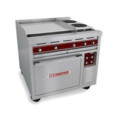 Southbend SE36A-BBB 36 Heavy Duty Electric Range W/ Round Hot Plates