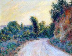 """arcadiaart:  Claude Monet, """"Chemin"""""""