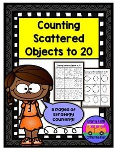 """If you're looking for ways to help your children practice counting mixed/scattered objects, look no further! This product includes graphics, shapes, and dots ranging from 12-20. Great for teaching """"crossing out as you count"""" and left to right counting. Preview included! (scheduled via http://www.tailwindapp.com?utm_source=pinterest&utm_medium=twpin&utm_content=post184504383&utm_campaign=scheduler_attribution)"""
