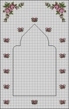 Seccade Modelleri - - Source by seccade Russian Cross Stitch, Cross Stitch Rose, Cross Stitch Flowers, Cross Stitching, Cross Stitch Embroidery, Embroidery Patterns, Silk Ribbon Embroidery, Hand Embroidery, Cross Stitch Designs