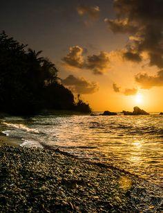 Sunset on Toco Beach, Trinidad & Tobago