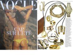 Vogue Paris - Jonc torsadé Napoléon