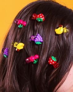 Fruity Hair Clips (Set of 4)