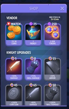 Nonstop Knight rewarded video ad mobile game