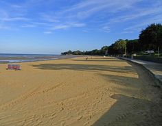 Ryde beach, September evening, Isle of Wight