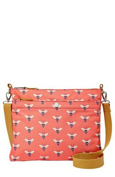 Bee print, just a different style --> Fossil 'Key-Per' Crossbody available at #Nordstrom