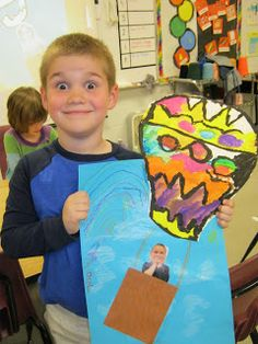 Eagle Art: Hot Air Balloons - Eagle Art: Hot Air Balloons La mejor imagen sobre home organization para tu gusto Estás buscando a - First Grade Art, Eagle Art, Jr Art, Transportation Theme, Kindergarten Art, Preschool, School Art Projects, Art Lessons Elementary, Art Classroom