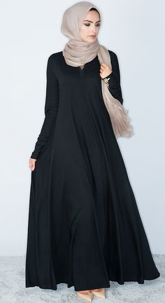 What do you think? Islamic Fashion, Muslim Fashion, Modest Fashion, Fashion Outfits, Hijab Style, Hijab Chic, Abaya Style, Burqa Designs, Mode Abaya
