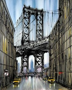 manhattan morning by paul kenton
