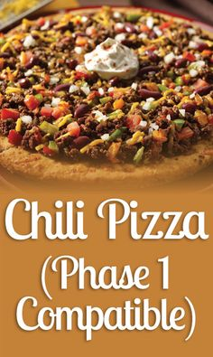 Phase 1 compatible chili pizza ?  Yes, just follow these steps and learn our most popular recipe: 1) Yield 2 medium pizzas, equivalent to 2 Ideal Protein Diet protein food portions. 2) Preheat the oven at 350º F. Blend the contents of the oatmeal and the chili together with the baking powder, baking soda, hot water, virgin olive oil and dried herbs until the water is absorbed and all the dry ingredients are equally distributed. #idealprotein #weightloss #idealproteinrecipes #recipes