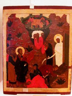 Raising of Lazarus, pskov icon