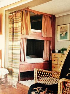 Tiny House, Cottage, Bright, Curtains, Interiors, Home Decor, Blinds, Decoration Home, Room Decor