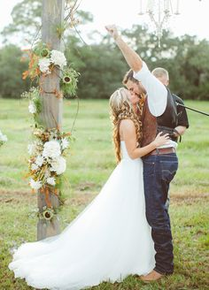 Such an Awesome First Kiss! :: {Photo courtesy of J Photography}