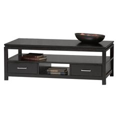 Sutton Black Coffee Table | from hayneedle.com