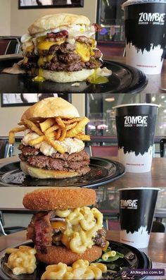 Zombie Burger - DES MOINES, IOWA: hello heartattack we have been waiting to meet you.