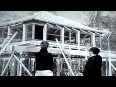 Philippe Starck Wooden House - 3 Suisses - YouTube