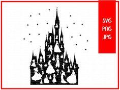 Cinderella castle Svg-Disney castle SvgSVG Design for