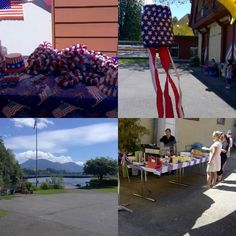 Celebrating #4thofjuly  at #Luzern #Switzerland #Canoe #Club with #burgers and #beer
