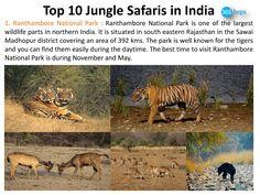 Ranthambore National Park >>> http://www.mediafire.com/view/6nfhcvn74lv2wuf/Top_10_Jungle_safaris_in_India.pdf  #Rajasthan #Ranthambore #NationalParks, #WildlifeSanctuary, #WildlifeSafaris, #JungleSafaris #India #365Hops