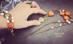 Jewelry set with freshwater pearls and lampwork beads #papuosalai#papuosalas#pakabukas#apyrankes#aksesuarai#pasipuosk#madinga#stilius#moterims#rankudarbopapuosalai#pagamintalietuvoje#jewelrygram#jewelrymaking#bracelets#bijoux#pearl#handmadenecklace#jewelrydesign#handmadejewelry#бижутерия#украшения#браслет#браслеты#аксессуары#accesories#gifts#fashion#mada#dovanuidejos#womanfashion