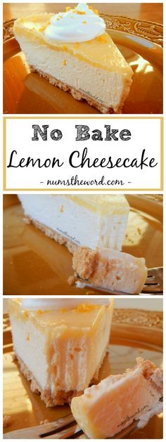 This No Bake Lemon Cheesecake is a lemon lovers dream come true. A tasty no bake cheesecake topped with homemade lemon curd is to die for. So easy and quick to make!