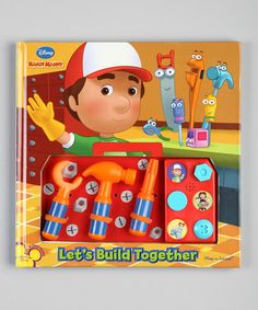 Take a look at this Play-a-Sound: Handy Manny Board Book by Book Boutique on #zulily today!