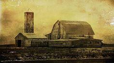 Title  Winter On The Farm  Artist  Dan Sproul  Medium  Photograph - Digital Art