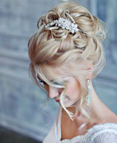 beautiful hair updo