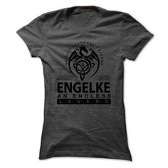 [Popular Tshirt name list] ENGELKE an endless legend Teeshirt this week Hoodies, Funny Tee Shirts