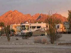Gold Rock Is A Full Service Own Or Rent R V Resort Campground And Mobile Home Park In The Southern California Desert