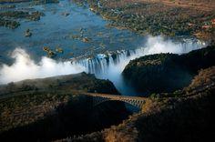 Victoria Falls, Zimbabwe. #Travel #Falls @travelfoxcom #Zimbabwe
