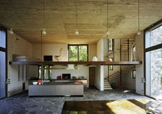Stone House with Rustic Appeal on Lake Como, Italy by Architect Arturo Montanelli