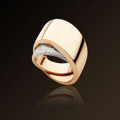 Vhernier - 'Tourbillon' - Ring in white gold, rose gold and diamonds. Vhernier – 'Tourbillon' – Ring in white gold, rose gold and diamonds.guilhe… Vhernier – 'Tourbillon' – Anillo en oro blanco, oro rosa y diamantes. Modern Jewelry, Gold Jewelry, Jewelry Rings, Jewelry Accessories, Fine Jewelry, Chain Jewelry, Bijoux Design, Schmuck Design, Jewelry Design