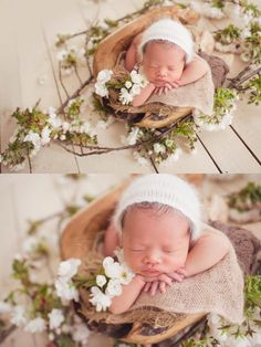 Do this with Brooklyn - with white wed flowers.