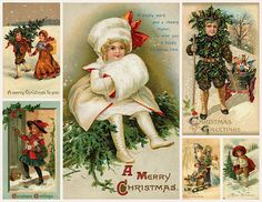 Magic Moonlight Free Images: A Christmas Gift in September! I made this collage for You!