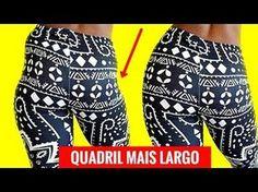 QUADRIL LARGO→12 EXERCÍCIOS PARA PERDER CULOTE e Ter Quadril Largo! Como Aumentar o Quadril Em Casa - YouTube