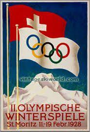 Bilderesultat for vintage norwegian ski posters