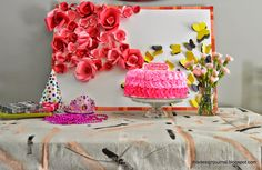 This Design Journal: Flowers, Butterflies, Party...