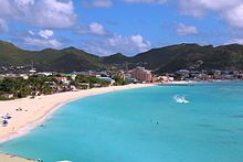The Great Bay at Philipsburg, St. Marteen. We have a fun group going on a cruise in January 2014. Cabins available. Why not join us. Comment on http://www.facebook.com/TravelTheUs and I'll forward you info.