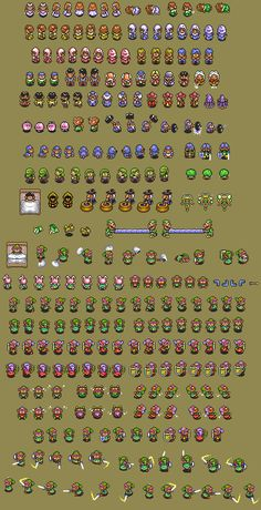 a link to the past sprites - Google Search