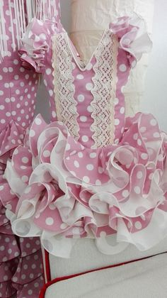Cute Girl Outfits, Cute Outfits For Kids, Cute Girls, Dog Dresses, Girls Dresses, Doll Costume, Costumes, Flamenco Costume, Baby Frocks Designs
