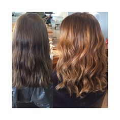 Another stunning colour change from team Di milo 💕