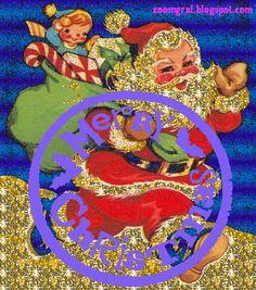 ZOOM FRASES: gifs animados pasa saludar en navidad