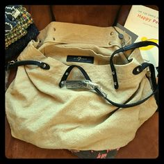 NWT Seven Tote Canvas bag... still has plastic on tag and zippers. Cute just for runnin' around town with ya bad self! Seven7 Bags
